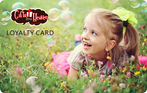 PVC Gifts from Heaven Loyalty Card Printing