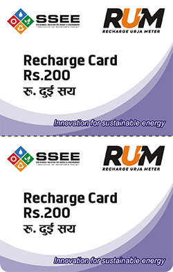 2 in 1 Multi-Pin RUM Recharge Card Printing